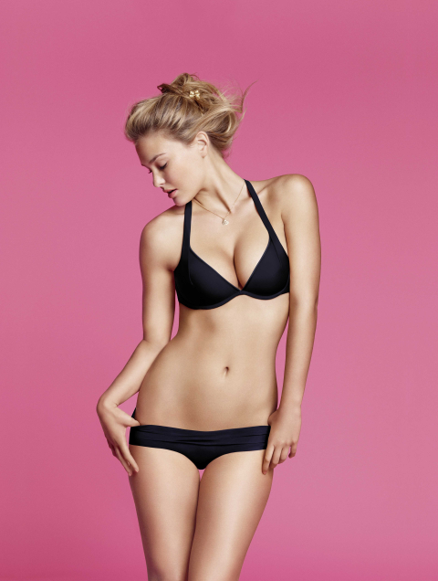 push-up en pespunttes moda intima